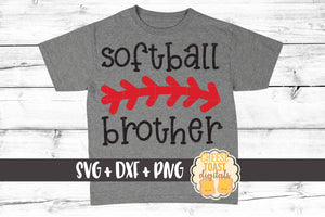 Softball Brother