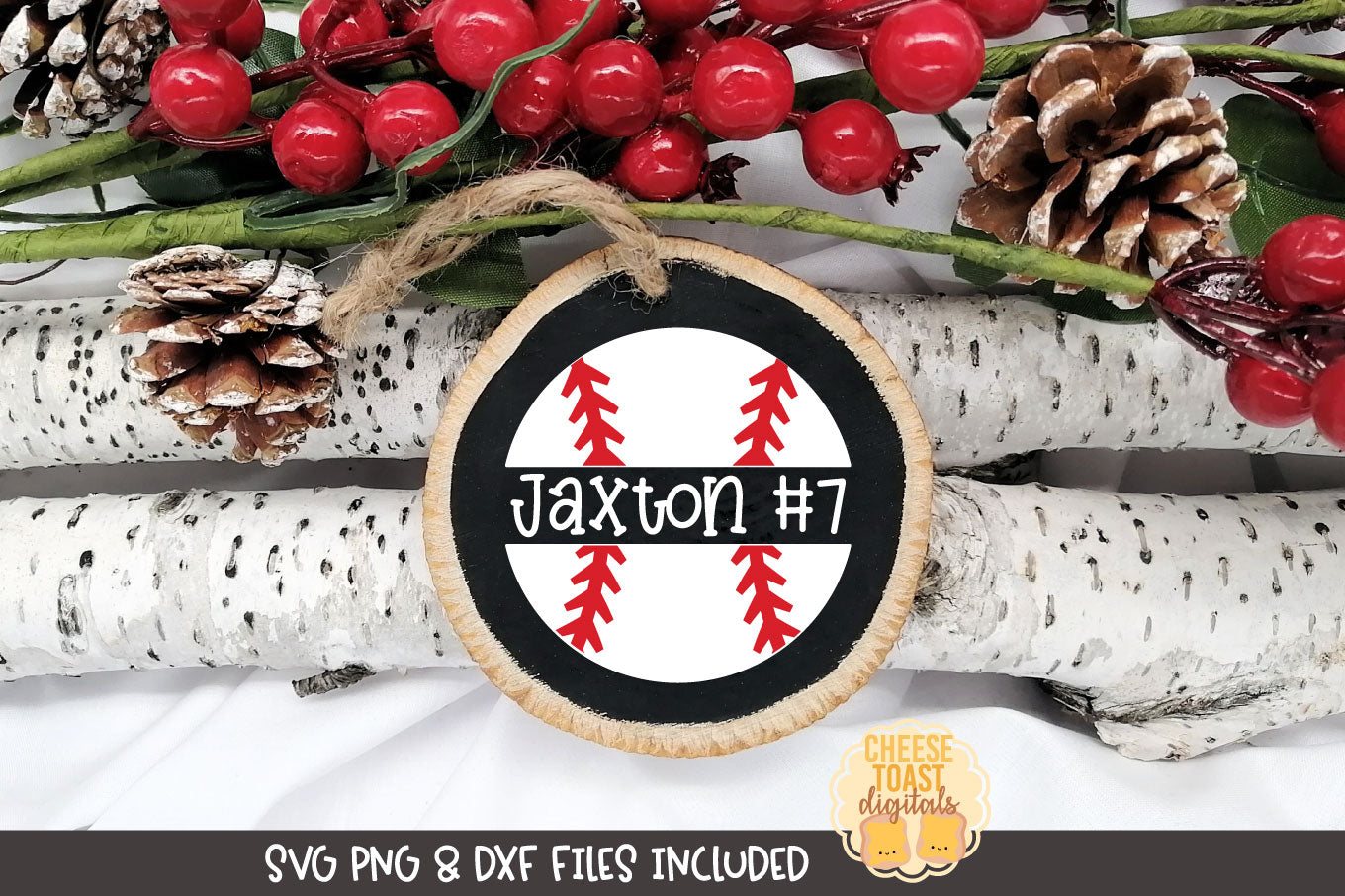 Baseball | Christmas Ornament