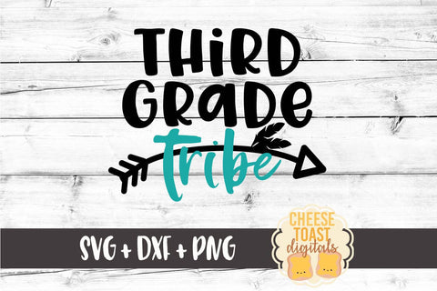 Third Grade Tribe - SVG, PNG, DXF