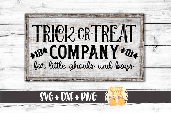 Trick or Treat Company For Little Ghouls and Boys