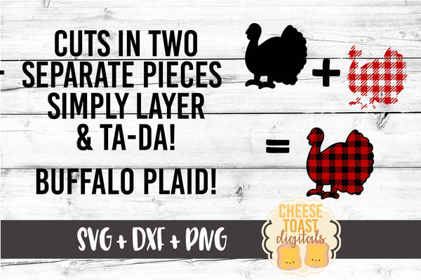 Buffalo Plaid Family Turkey Bundle