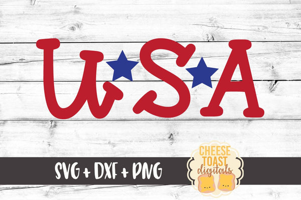 USA - SVG, PNG, DXF