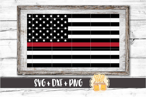 American Flag - Thin Red Line