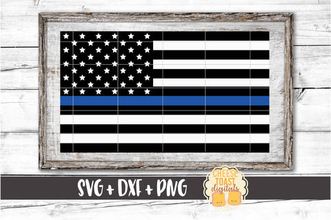 American Flag - Thin Blue Line