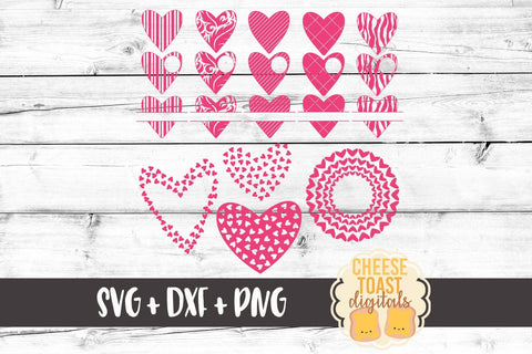 Heart Valentine Monogram Bundle