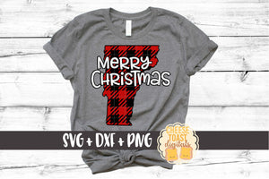 Vermont - Buffalo Plaid Merry Christmas