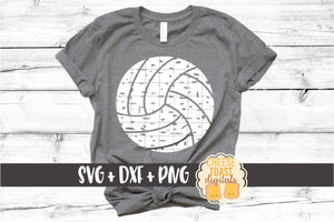 Volleyball - Distressed