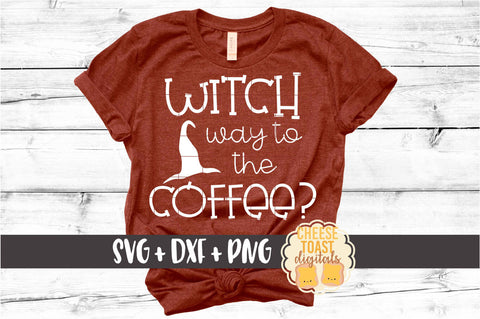 Witch Way To The Coffee