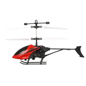 D715 Flying Mini Infrared Induction RC Helicopter Drone Remote Control Aircraft with LED Flashing light for Kids Toys Gift