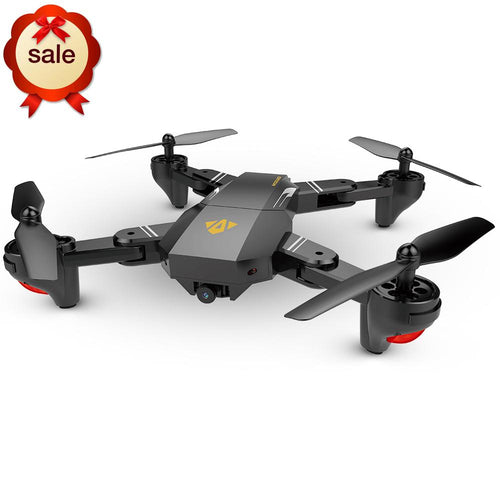 2.0MP 720P Foldable Selfie Drone VISUO XS809HW Wifi FPV 120 FOV Wide Angle HD Camera 2.4G Height Hold RC Quadcopter G-Sensor RTF