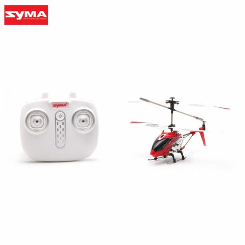 Original Syma S107H Gyro Metal 2.4G Radio 3.5H Mini Helicopter RC Remote Control Altitude Hold Drone for Toy Gift Present RTF