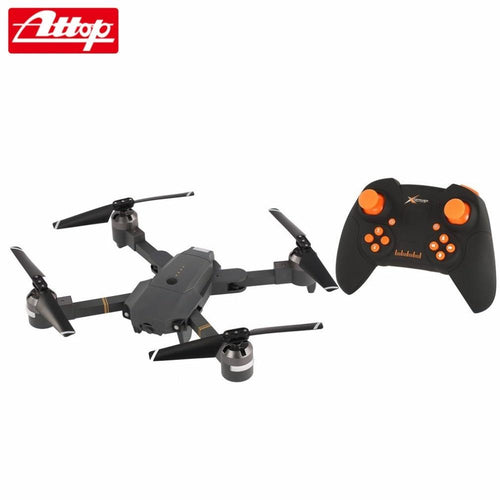 Attop XT-1 2.4G Altitude Hold Mode Foldable Headless 3D Flip Roll One Key Takeoff/Landing Speed Switch RC Quadcopter hz