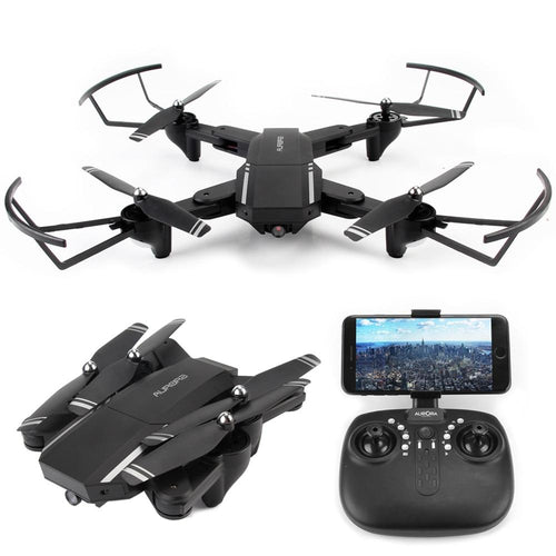 3 Battery WIFI FPV RC Drone With Wide Angle HD 720P Camera High Hold Mode Foldable Arm RC Quadcopter Helicopter Gifts for Boys