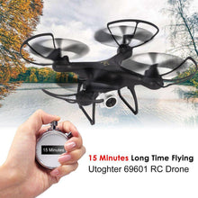 69601 RC Drone with 720P Camera WiFi FPV 15 Minutes Flying Headless ModeDrone H/L Speed Altitude Hold One-key Return Quadcopter