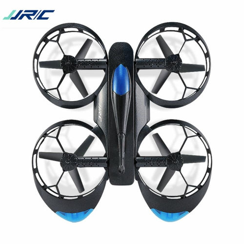 JJR/C H45 BOGIE Wifi FPV Quadcopter RC Drone with 720P Camera Voice Control Altitude Hold Wheel Shaped Foldable Mini Helicopter