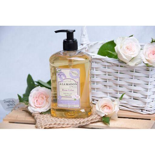 A La Maison Rose Lilac Liquid Soap 500 ml