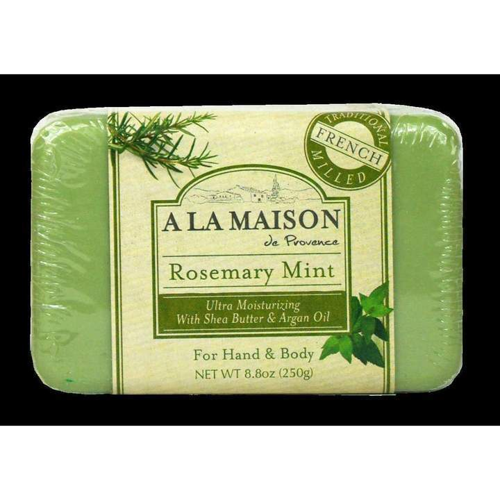 A La Maison Rosemary Mint Bar Soap Value Pack (4 in 1) 3.5 oz
