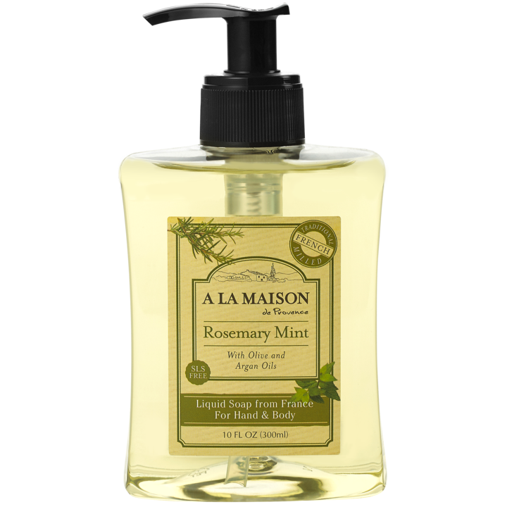 A La Maison Rosemary Mint Liquid Soap 300 ml