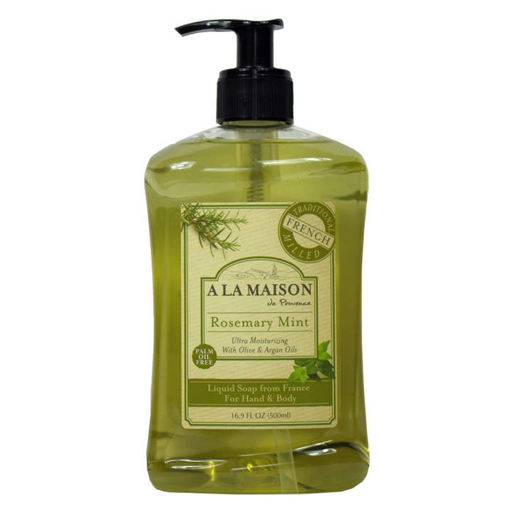 A La Maison Rosemary Mint Liquid Soap 500 ml