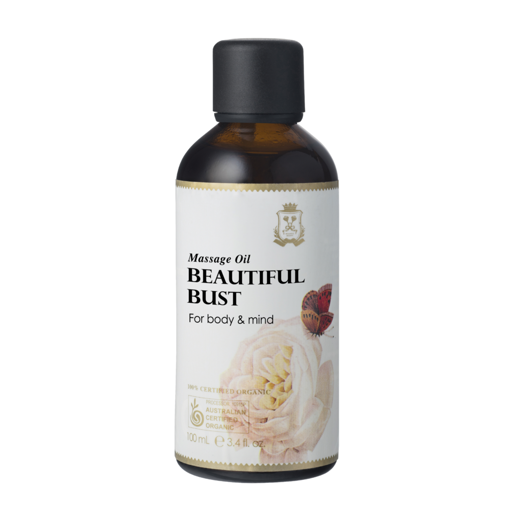 Ausganica 100% Certified Organic Beautiful Bust Massage Oil 100ml