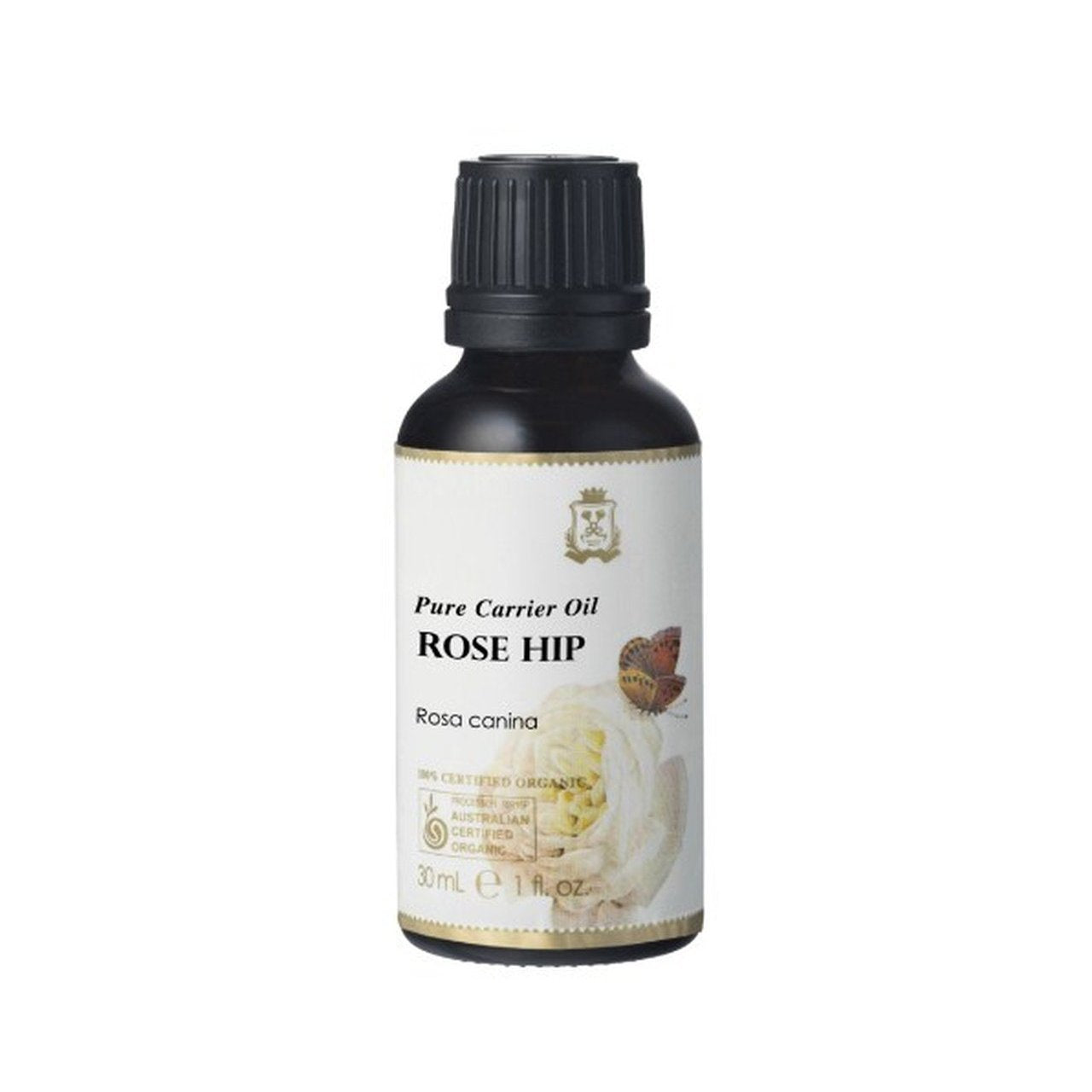 Ausganica 100% Certified Organic Rose Hip Carrier Oil 30ml/100ml