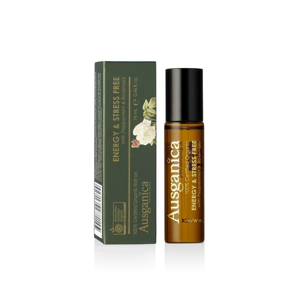 Ausganica Energy and Stress Free Roll-On 14ml