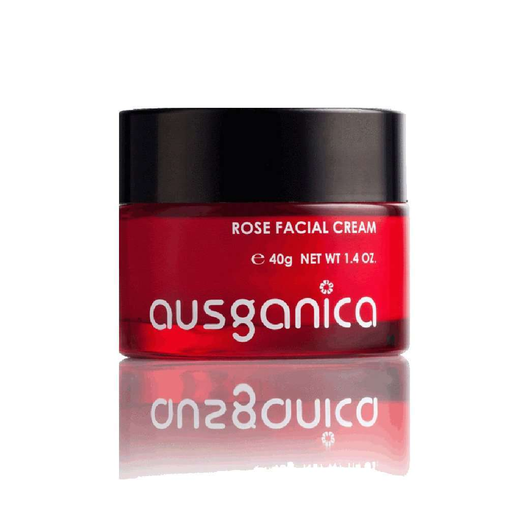 Ausganica Rose Facial Cream 40g