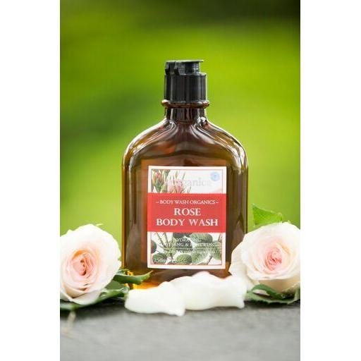 Ausganica Rose Romance Body Wash 250ml