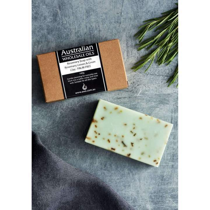 AWO Rosemary and Rosemary Leaves Soap with Green Clay 140g