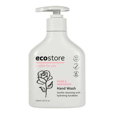 Ecostore Rose & Geranium Hand Wash 250ml