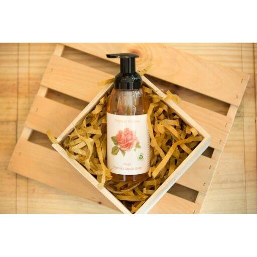 Organic Origins Rose Castile Liquid Soap (All Purpose) 400ml