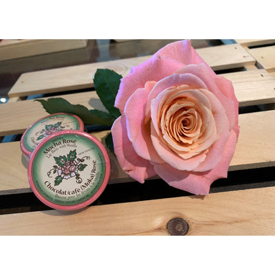 Rosebud Perfume Co. Mocha Rose Lip Balm Tin 22g