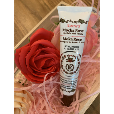 Rosebud Perfume Co. Mocha Rose Lip Balm Tube 14.2g