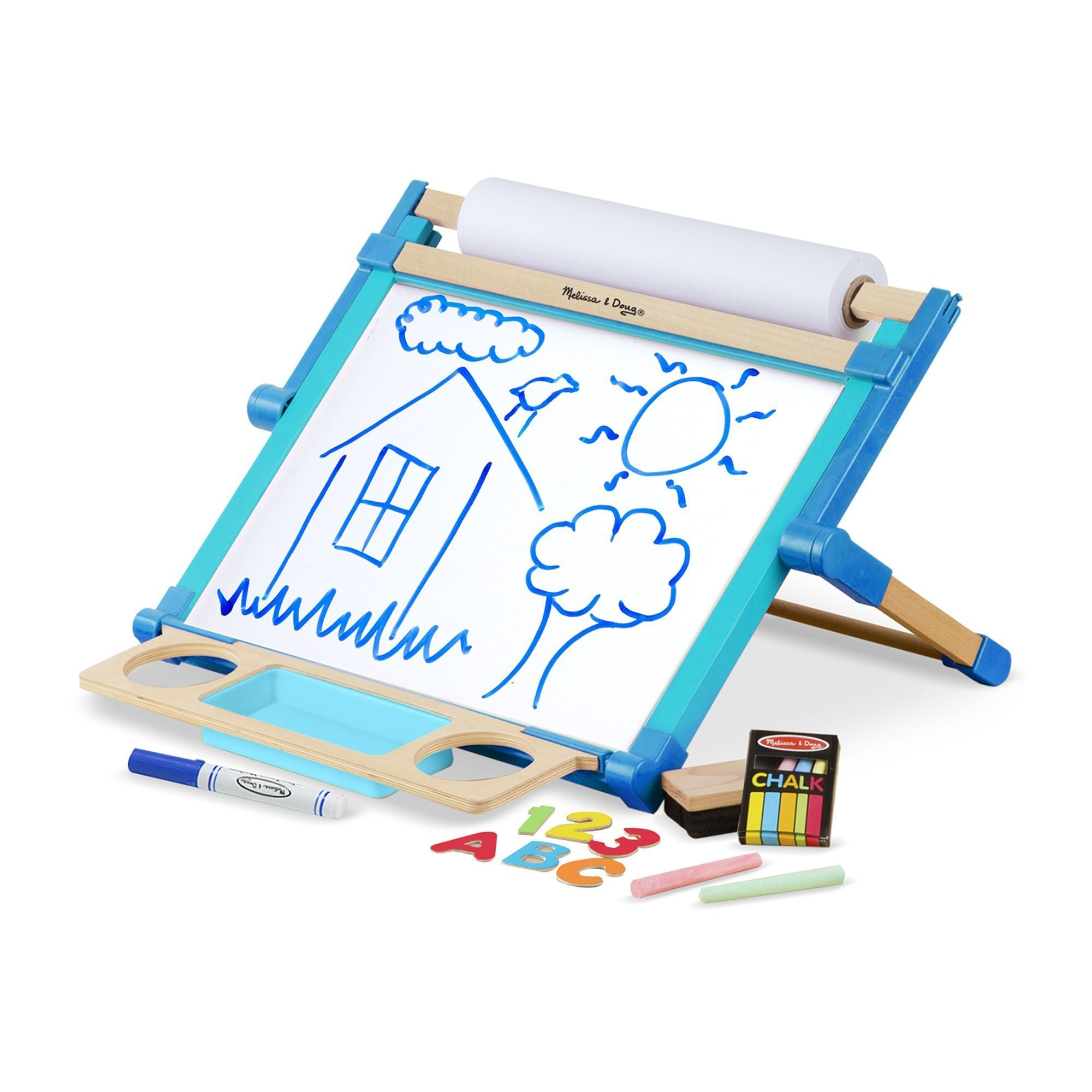 Double-Sided Magnetic Tabletop Easel