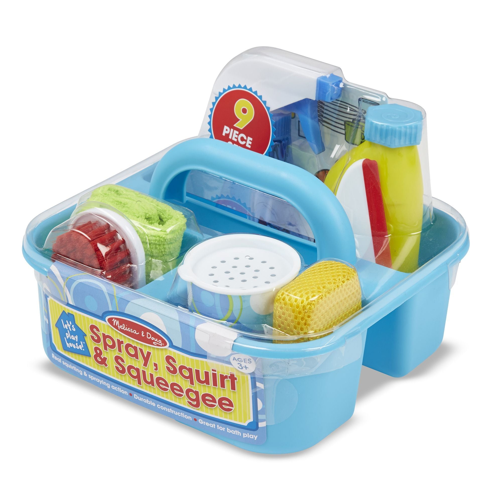 Let's Play House! Spray, Squirt & Squeegee Play Set