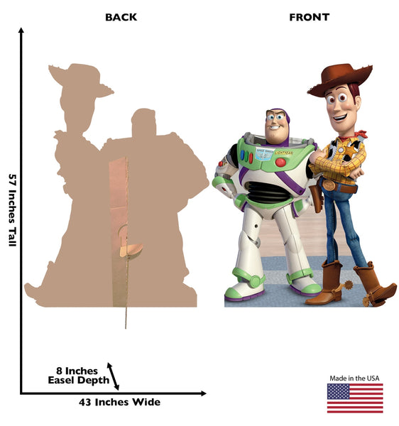 Buzz and Woody (A Toy Story)