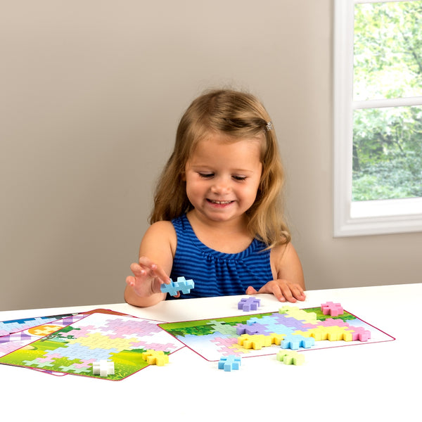 Plus-Plus - BIG Picture Puzzles - Pastel