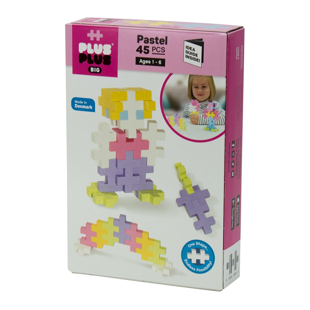 Plus-Plus - BIG 45 pc - Pastel