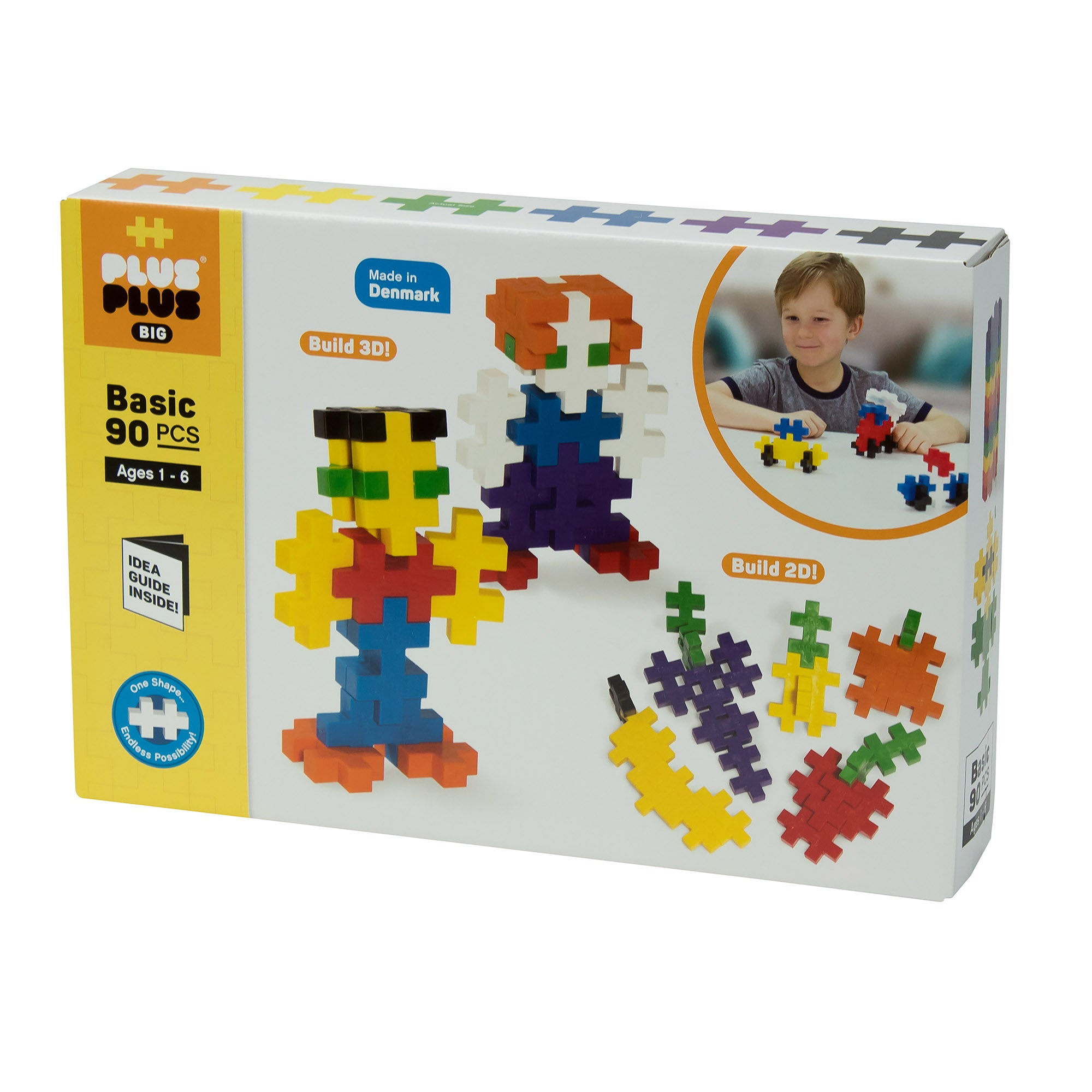 Plus-Plus - BIG 90 pc - Basic
