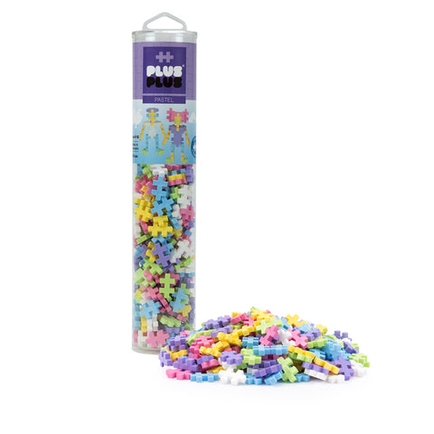Plus-Plus 240 pc Tube - Pastel