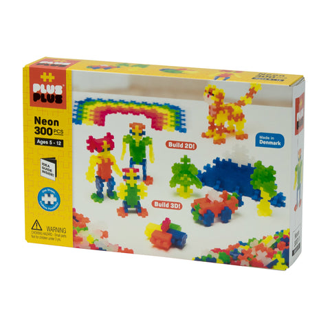 Plus-Plus - Open Play - 300 pc Neon