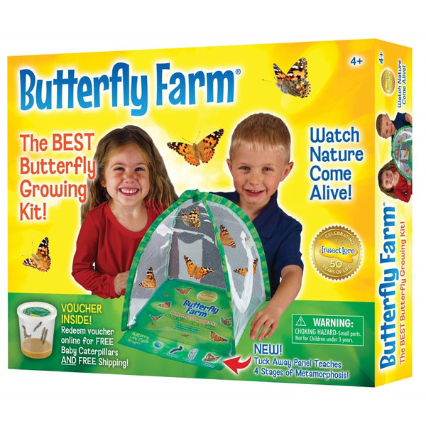 Butterfly Farm with Voucher