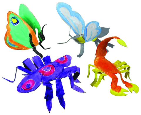 Roylco® Insect Sculptures