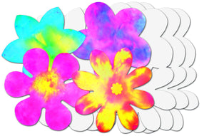 Roylco® Color Diffusing Paper Flowers
