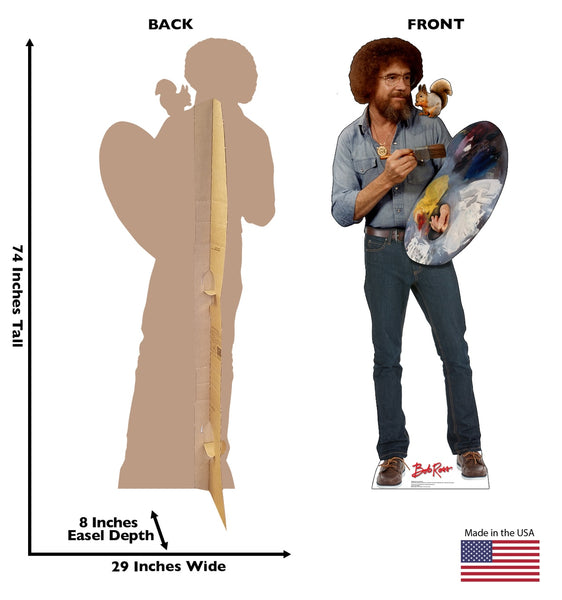 Bob Ross and Friend
