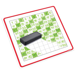 Roylco® Count to 100 Dry Erase Boards