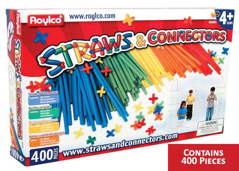 Roylco® Straws and Connectors™  Rectangle Box