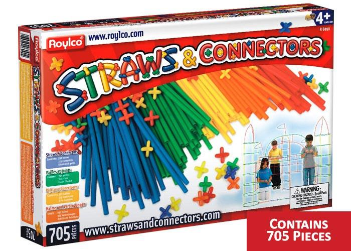 Roylco® Straws and Connectors™ Jumbo Set