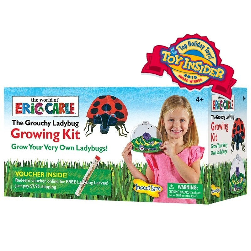 The Grouchy Ladybug Growing Kit with Voucher