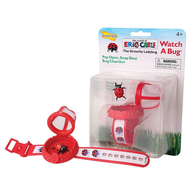 The Grouchy Ladybug Watch-A-Bug